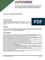 Modelo de Proposta de Prestação de Serviços em Informática