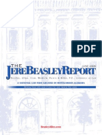 The Jere Beasley Report Jun. 2006