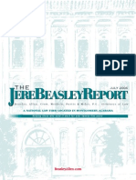 The Jere Beasley Report Jul. 2006