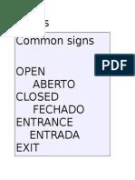 Portuguese Basics