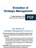 The Evolution of Strategic Management