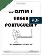 Apostila Língua Portuguesa V