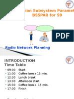 BSS Parameter