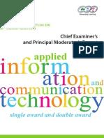 A2AS AICT Chief ExaminerPrincipal Moderator Report MayJune Series 2013 13163