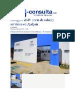 04-03-2015 E-Consulta,Com - Inaugura RMV Obras de Salud y Servicios en Ajalpan
