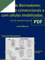 Aula 06 e 7 - Tipos de Biorreatores Convencionais e Com Células Imobilizadas