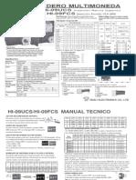 Manual Monedero HI 09FCS Libre