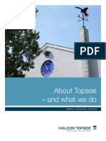 About Topsoe