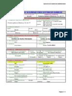 Msds Sulfato de Sodio Hidratado Pqmty