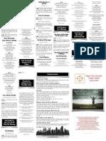 March 8, 2015 Worship Folder