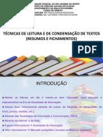 Técnicas de Leitura_slides