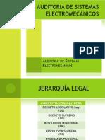 Auditoría de Sistemas Electromecánic