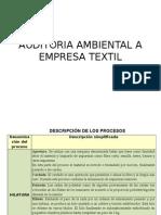 Auditoria Empresa Textil