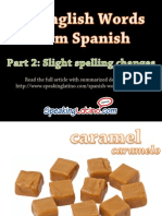 12 Examples of Spanish Words in English