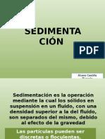 sedimentación