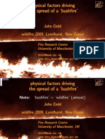 Physical Factors Driving the Spread of A