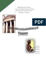 Ensayo sobre el Clasicismo y Neoclasicismo.pdf