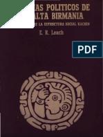 E. Leach - Sistemas Politicos de La Alta Birmania