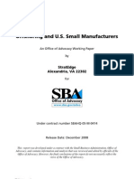 Offshoring and U.S. Small Manufacturers