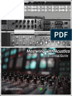 Mastering With Acustica 1.3