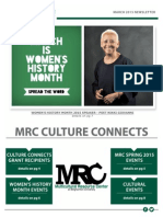 March MRC Newsletter