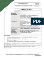 P-05-F-01 Criterios Para La Selección de Auditores