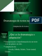 Dramaturgia de Textos Narrativos
