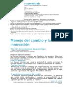 Capítulo 13 Manejo Del Cambio y La Innovación