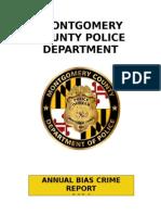 2014 Anuual Bias Crime Report