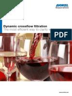 Andritz Dynamic crossflow filtration