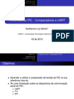 10 Comparadores UART I2C