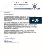s reference letter