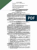 Ley 28681 Regula La Comercializacion Consumo y Publicidad de Bebidas Alcoholicas