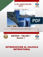 Sap2000 Taller1 Sesion 1