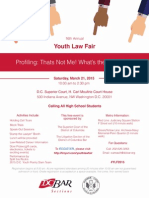 16th Annual Youth Law Fair