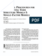 [the Journal of Derivatives, Hull] Numerical Procedures for Implementing Term Structure Models I - Single-Factor Models