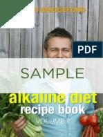 Recipe Book alkaline diet