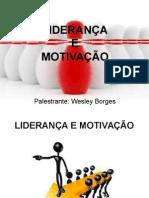 PALESTRA---LIDERANÇA---MOTIVAÇÃO(1)