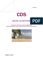 CDS Exemple Calcul Section BA