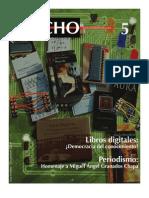 Revista Trecho 5 - Literatura e Internet - Noviembre a Diciembre de 2009