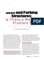 Suv's and Parking Structures