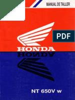 Manual Taller Honda NT650V Deauville