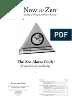 Zen Clock Book
