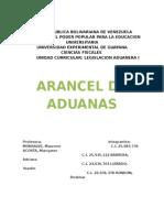 Arancel de Aduanas.doc