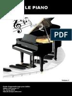 LE PIANO Guide Dapprentissage Vol2
