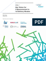 A Multi-Stakeholder Vision for Patient-Centered Measurement in New Payment and Delivery Models