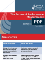 The Future of Performance Measurement