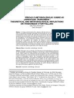 Reflexões Teóricas e Metodológicas Sobre as Narrativas Transmídia (João Massarolo e Dario Mesquita 2014)