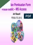 VB_Access-01 (Koneksi Dan Form Entry)