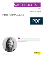 Men's Personal Care - US - October 2014 - Issues and Insights
